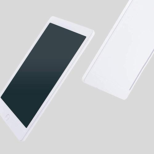 Regalo Liquid Crystal niño tablero de escritura No magnético Proyecto Luz de energía electrónica del Doodle del tablero de dibujo de la tableta LCD escritura pequeña pizarra for niños (Color: azul, ta