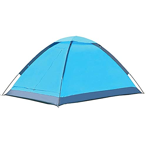H-BEI Carpa Camping al Aire Libre, Mochila portátil, Ligera Impermeable de Doble Capa, Adecuada para montañismo y Senderismo en la Playa