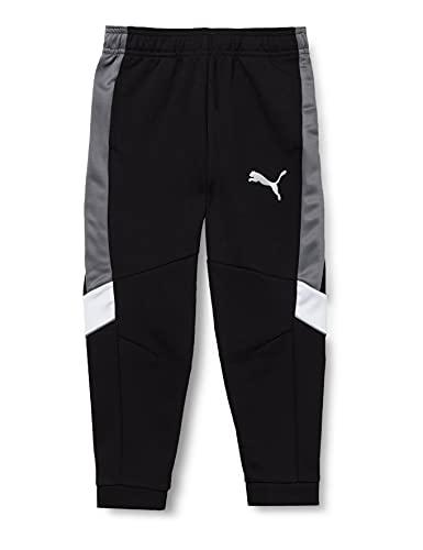 PUMA Jungen Active Sports Pants DK cl B Jogginghose, Black, 164