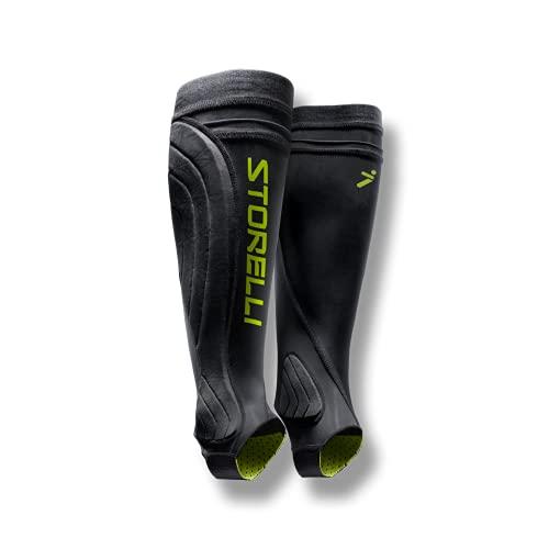 Storelli BodyShield-Beinschützer | Fußball-Schienbeinschutz-Halter | Verbesserter Unterschenkel- und Knöchelschutz |