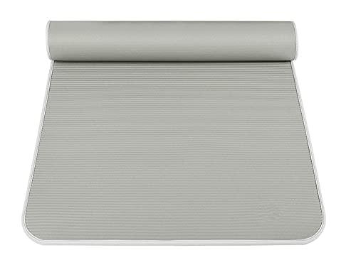Yoga Mat Antischild Fitness Stunt Maschile Addensamento, Ampliamento E Allungamento Yoga 10mm (principiante) Tappetino fitness grigio chiaro (80 larghezza)