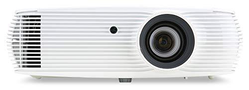 Acer PR242 Proyector con resolución XGA, Contraste 20.000:1, Brillo 4.200 ANSI, Formato 4:3, conexión HDMI, USB, VGA, Ethernet, Vida de la lámpara 3.000 h, Altavoces Integrados, Blanco