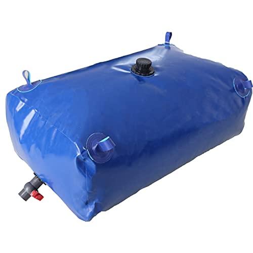 GDMING Contenedor Portador De Agua, PVC Tanque De Almacenamiento De Agua, Exterior Plegable Portátil Software Auto Bolsa De Agua por Agrícola Jardín Irrigación Barril