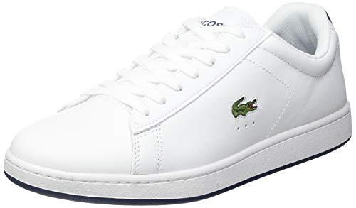 Lacoste Sport Herren Carnaby EVO 0721 2 SMA Sneaker, Wht/NVY, 42.5 EU