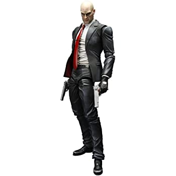 Amazon Com Square Enix Hitman Absolution Play Arts Kai Agent 47 Action Figure Toys Games
