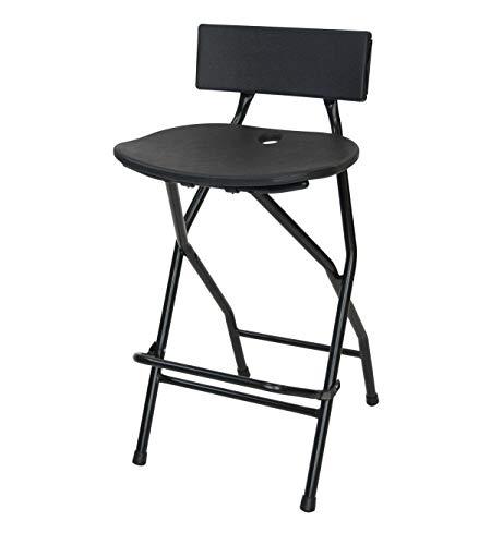 EventStable TitanPRO Folding Bar Stool with Backrest