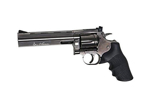 Dan Wesson RÉPLIQUE Airsoft 0,5 Joules Revolver 715 CO2 Steel Grey 6 Pouces 0.5 Joules (Vente Interdite aux Personnes âgées de Moins de 18 Ans)