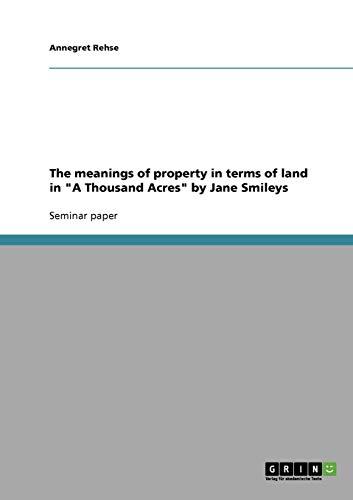 1000 acres jane smiley - 2