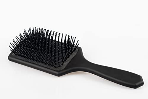 Kura-Kura Spazzola per Capelli Professionale Paddle Hair Brush- spazzola rettangolare adatta allo styling di tutti i tipi di capelli con un'impugnatura comoda e antiscivolo