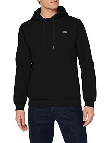 Lacoste Herren SH1527 Pullover, Noir/Noir, XXL