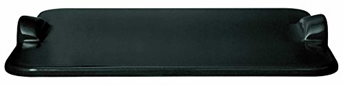 "Emile Henry Rectangular Grill/Oven pizza stone, 18.0"" x 14.0"", Charcoal"