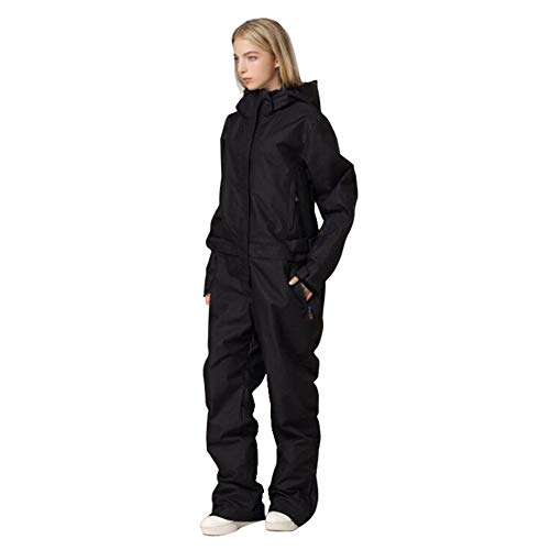 Women's One Pieces Ski Suits Jumpsuits Coveralls Winter Outdoor Waterproof Snowsuits for Snow Sports