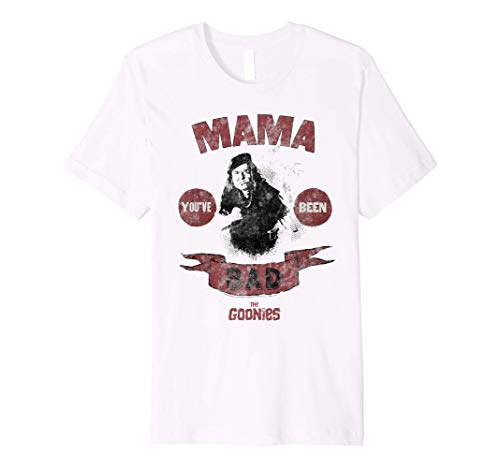 The Goonies Mama Fratelli You've Been Bad Premium T-Shirt, Adults S to 3XL