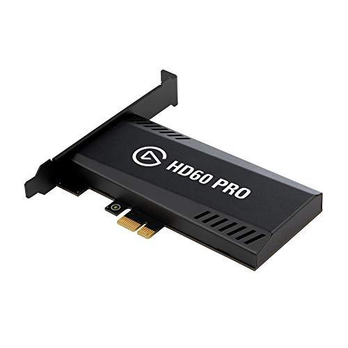 Elgato HD60 Pro, Capture 1080p60 avec Pass-Through, Carte d'Acquisition PCIe, Technologie à Faible Latence, PS5, PS4, Xbox Series X/S, Xbox One