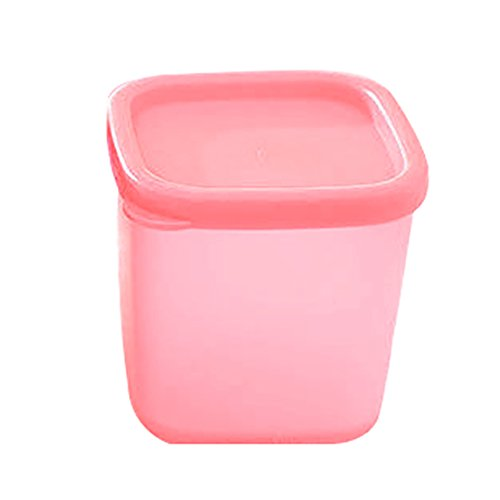 Feli680Bruce Frischhaltedose mit Clip & Versiegelung, 1 Stück, knuspriger, tiefer Lebensmittelbehälter, Frischhaltebox, Mini-Konservierungsbox, BPA-frei, Lebensmittelbehälter mit Deckel
