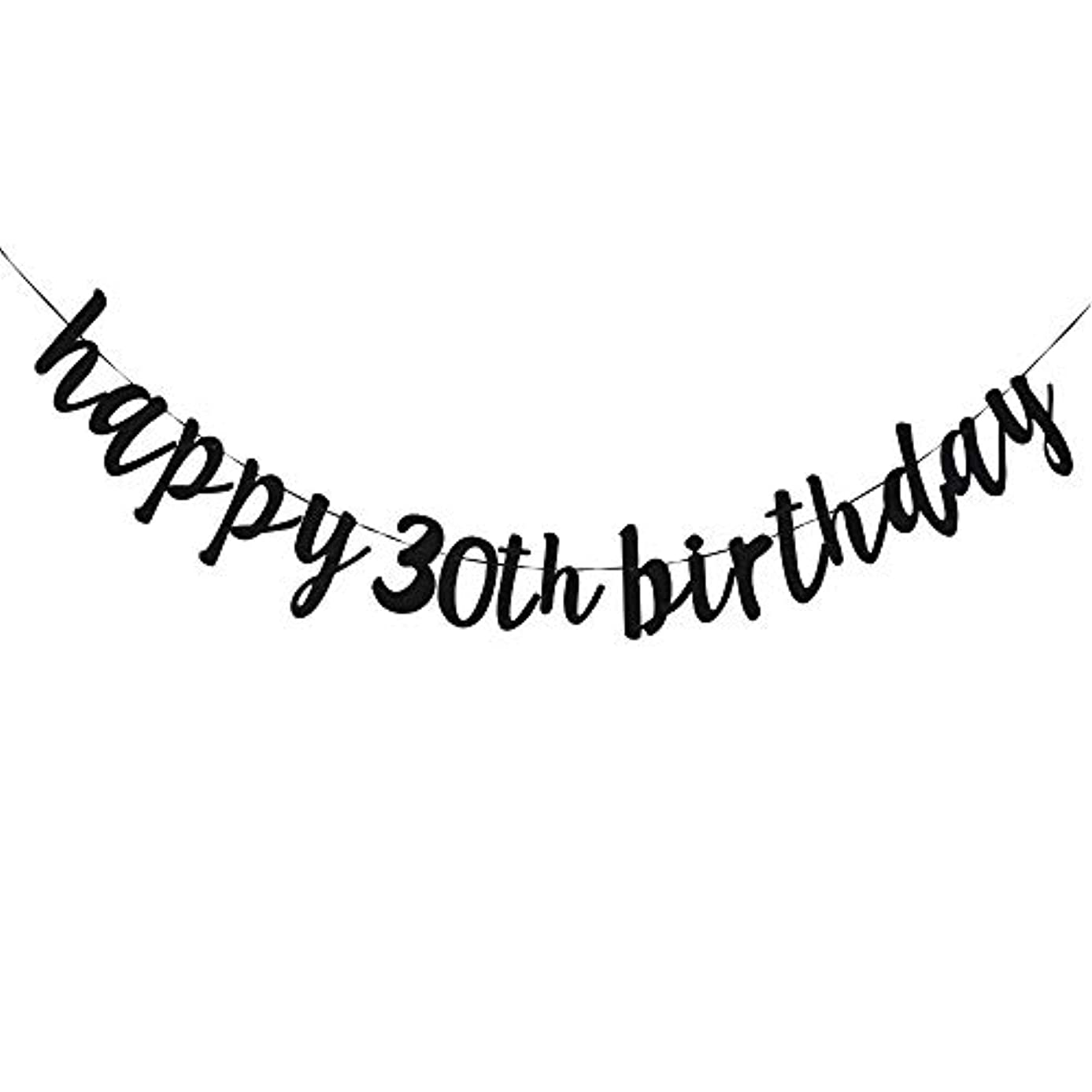 Happy 30th Birthday, 30th Birthday Party Hang Bunting Sign Decorations Photo Props, Party Favors, Supplies, Gifts, Themes and Ideas