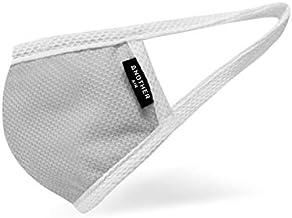 Another Air COOLメッシュマスク Sサイズ 抗菌 UVカット 吸湿 速乾 フィルターポケット付き 夏マスク 息がしやすい (グレー)