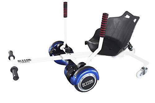 Olsson & Brothers, Accesorio Universal Extensible Kart Twister con Suspensión Derrapes para Hoverboard