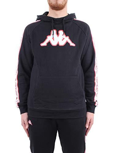 Kappa Logo Tape ALIWE Sweatshirt Kappa 304M550, Schwarz XL
