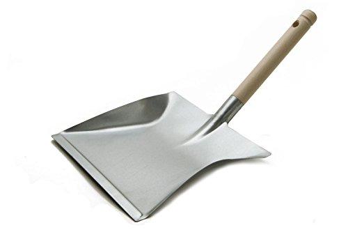BawiTec Paletta Paletta zincato con Manico in Legno Metallo della Pala