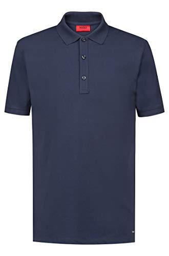 Hugo Slim-Fit Poloshirt Dinos aus Stretch-Baumwolle dunkelblau 405 (L)