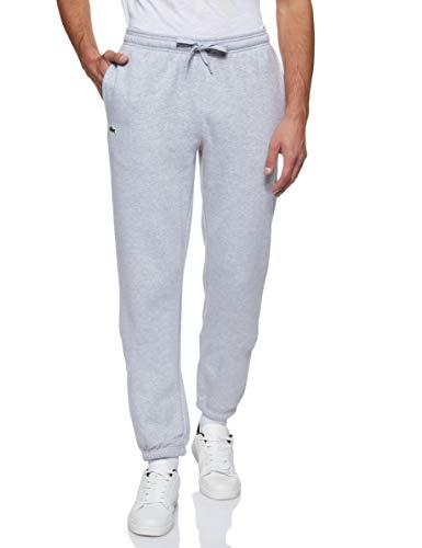 Lacoste XH7611 Pantalon de Sport, Argent Chine, S Homme