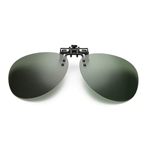 N-K Occhiali da sole da uomo polarizzati Mirrored UV400, con clip, stile e popolare