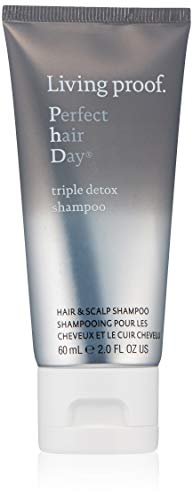 Living proof Perfect Hair Day Triple Detox Shampoo, 2 Fl Oz