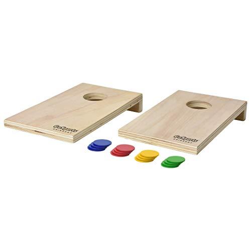 GoSports Coinshot Mini Tabletop Cornhole Game Set