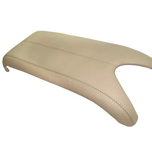 Funda para reposabrazos de piel de color beige para consola Suture (solo la parte de cuero no incluye tapa)