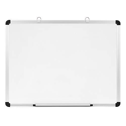 Eono by Amazon 60cm x 45cm Whiteboard Magnetisches Memoboard mit Rahmen aus Aluminiumlegierung mit Beschlägen, für Büro, Schule, zu Hause, Geschäft