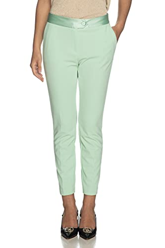 Imperial Pantalone Donna S Verde Acqua Pvn2bbk 1/21 Primavera Estate 2021