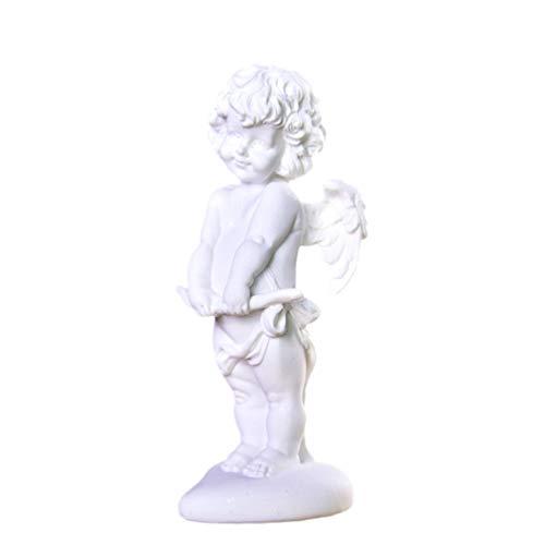 LIOOBO Sandstein Engel Statue Cherub Engel Figur Skulptur Vintage Tabelle Ornament Dekoration für Home Office Outdoor Garten Hochzeit Valentin Geburtstag Stil 3