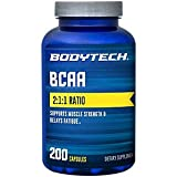 Best Bcaa Capsules - BodyTech BCAA (Branched Chain Amino Acid) Optimal 2:1:1 Review
