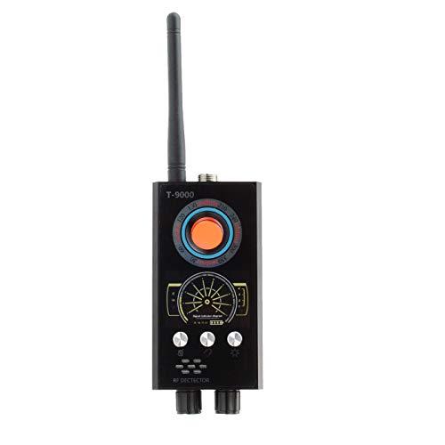 KOBERT GOODS - schnurloser Wanzenfinder (T-9000) zum Aufspüren von Mobilfunksignale, Wanzen, GPS-Signalen und HF-/drahtlosen Kameras - Erkennung von magnetischen Wanzen mit extra Sondenschnittstelle