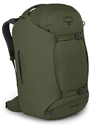 Osprey Porter 65 Travel Backpack, Haybale Green, One Size