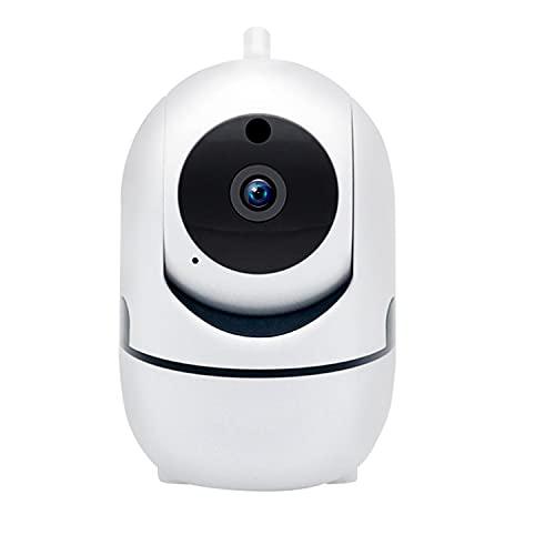 Cubierta De Cámara De Seguridad, WiFi Doméstica Cámara Inalámbrica 1080P HD Pan/Tilt con App, Visión Nocturna, Audio De 2 Vías para Los Niños/Animal/Niñera, Detección De Movimiento