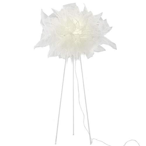 AJZXHE Lámpara de pie Sala de Estar Dormitorio Personalidad Creativa Tela IKEA lámpara de mesilla lámpara de Mesa Vertical