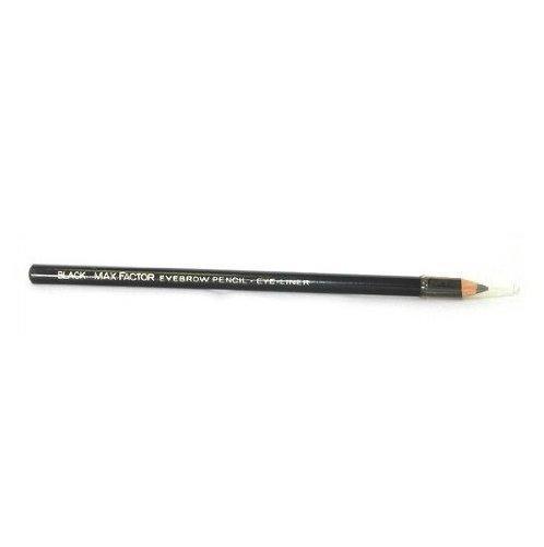 Max Factor Eyebrow Pencil Eye Liner .07 Oz Original Formula - Black