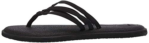 Sanuk Yoga Salty Black 2 10