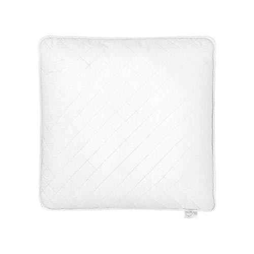 Meisterhome Soft Touch Kopfkissen Mikrofaser, Allergiker geeignete Kissen Öko-Tex Weiß 80 x 80 cm