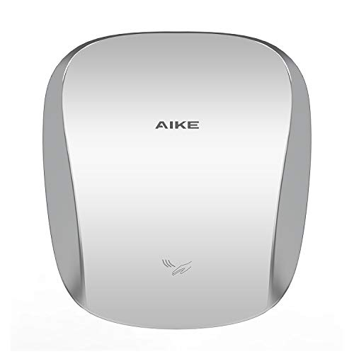 AIKE AK2903 Heavy Duty Commercial Hand Dryer with Hepa Filter Polished Stainless Steel UL Approved