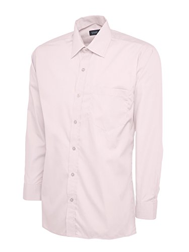 Uneek clothing - Chemise Business - Homme Rose Rose Petit
