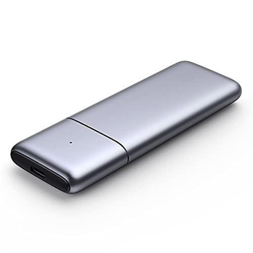 SHYPT Estuche SSD M.2 Protocolo Dual NVMe SATA A USB 10Gbps M2 Estuche De Disco Duro Estación De Acoplamiento para Disco Duro SSD Externo