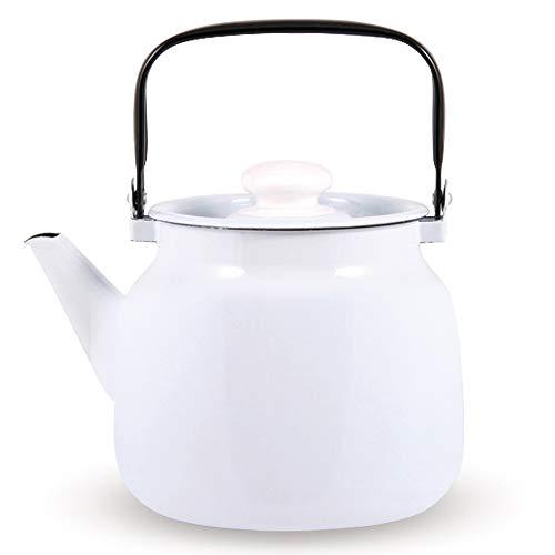 Zarenhoff Wasserkessel mit Deckel - Komfort, emailliert - 3,5 L
