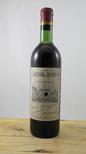 Wein Jahrgang 1966 Château Junayme ELA Flasche