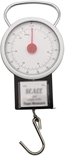 WYQ- Tipo de Puntero Escala de Equipaje Portátil High Precisión Compras 32kg Balance de Primavera Hogar, Viajes, Escala electrónica Peso