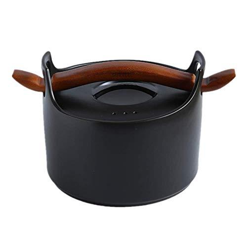 NLYWB 2,5 l anti-aanbaklaag, keramische sproeikachel met emaille coating, compatibel met inductiekookgas voor soep, haver en rijst