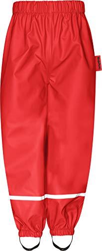 Playshoes unisex-baby fleece halve broek 408626 regenbroek, rood (rood 8), (maat fabrikant: 92)