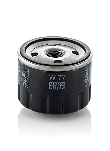 Original MANN-FILTER Ölfilter W 77 – Für PKW und Nutzfahrzeuge